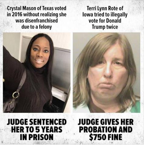 The Crystal Mason Meme is Utter Bullshit